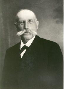1. Vorsitzender Anton Gschwilm von 1908 - 1924