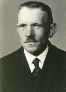 Leonhard Gschwilm Vorstand von 1953 - 1960
