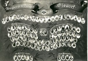 Kriegserinnerung 1914 - 1918