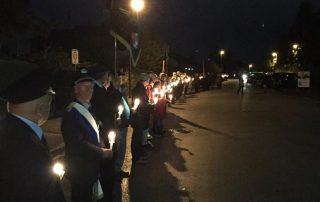 Friedenslichterkette 15.10.2016