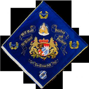 Fahne von 1993 Rückseite