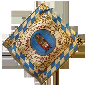 Fahne von 1909 Vorderseite